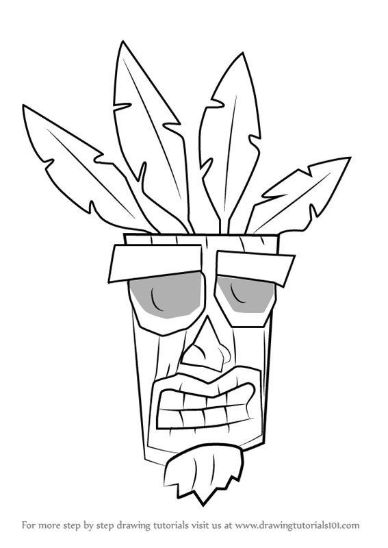 Learn How to Draw Aku Aku from