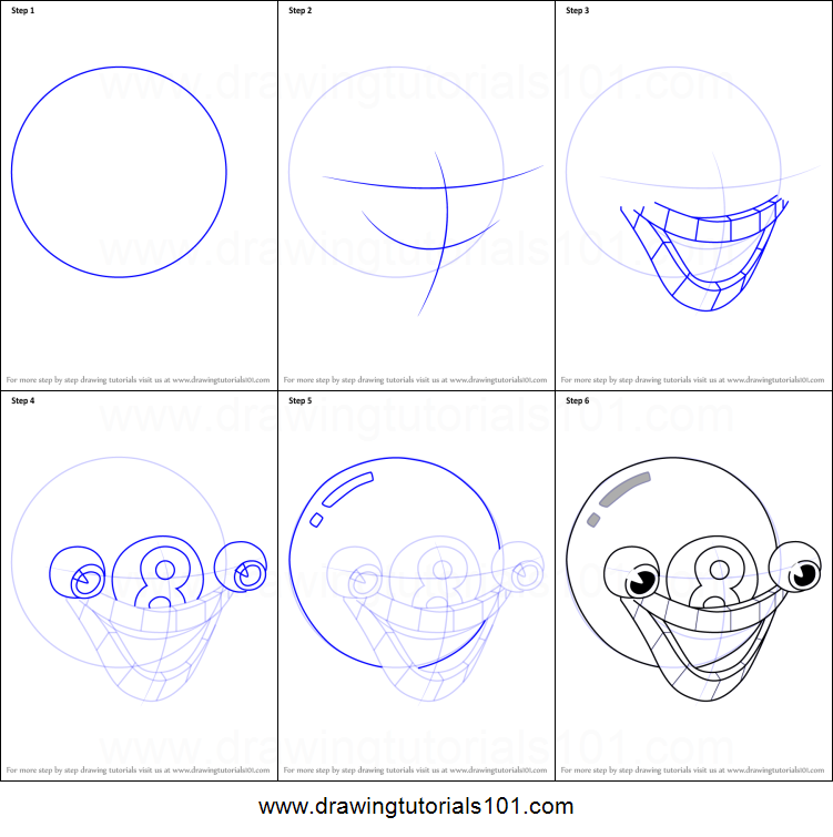 How To Draw Mangosteen From Cuphead Printable Step By Step Drawing