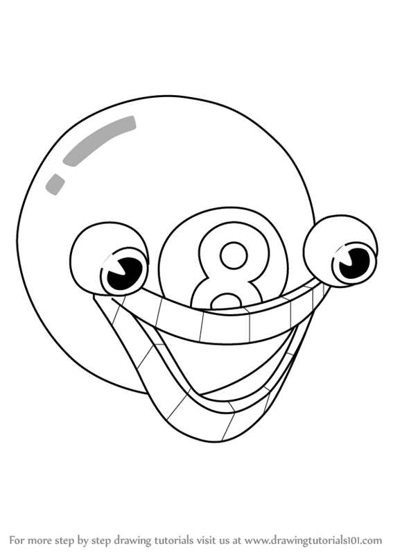 Learn How To Draw Mangosteen From Cuphead Cuphead Step By Step