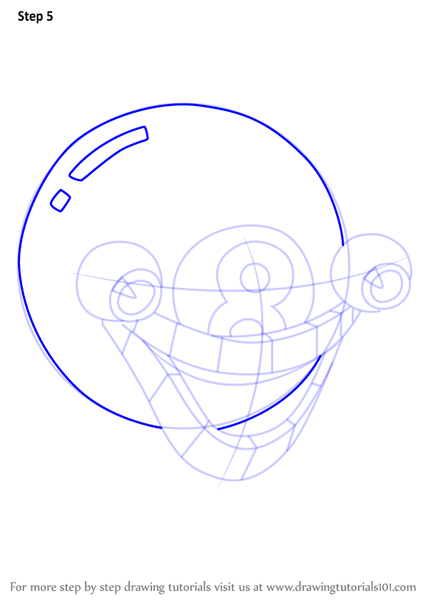 learn how to draw mangosteen from cuphead  cuphead  step