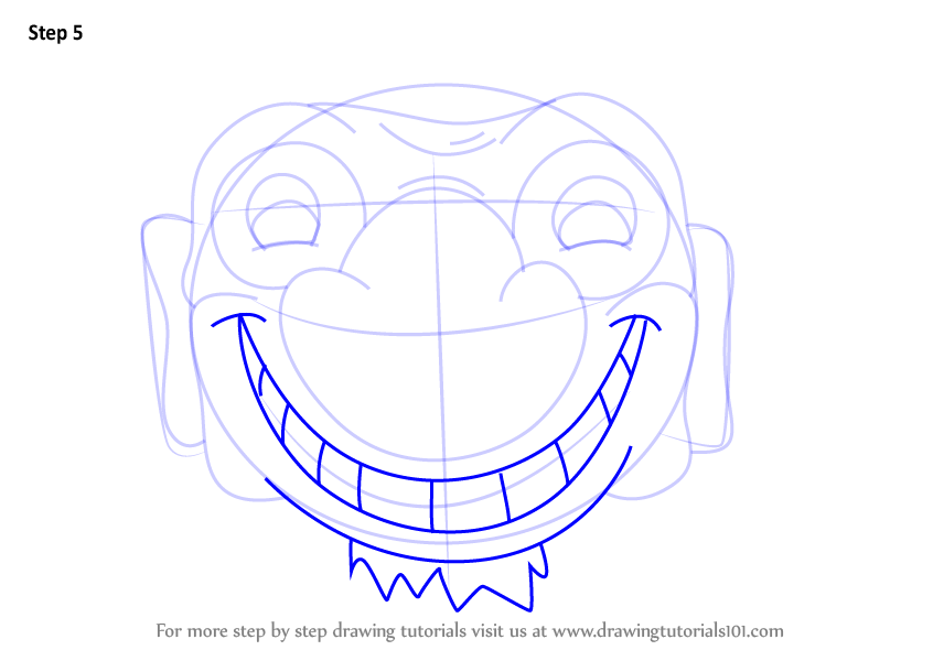 Learn How To Draw Quadratus From Cuphead Cuphead Step By