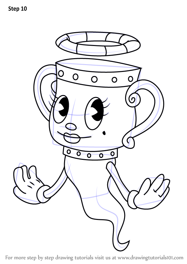 Learn How to Draw The Legendary Chalice from Cuphead