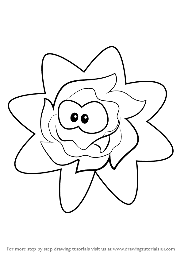 Cut the rope coloring pages ~ Learn How to Draw Ginger from Cut the Rope (Cut the Rope ...
