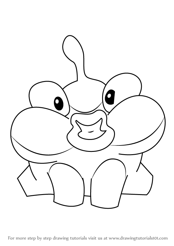 Cut the rope coloring pages ~ Learn How to Draw Lick from Cut the Rope (Cut the Rope ...