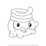 How to Draw Toss from Cut the Rope