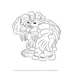 How to Draw Sasquatch from Darkstalkers