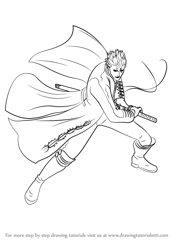 devil may cry coloring pages - photo#41