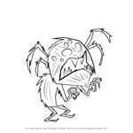 How to Draw Webber from Don't Starve