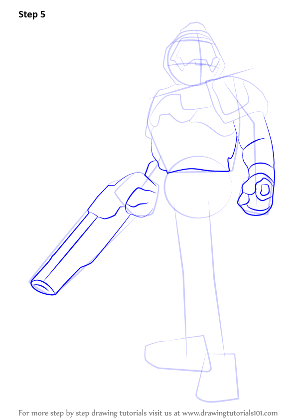 How To Draw Doomguy Step Drawing Anime By