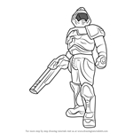 How to Draw Doomguy