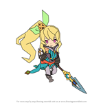 How to Draw Elisanne from Dragalia Lost