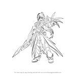 How to Draw Raven from Elsword