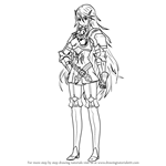 How to Draw Cordelia from Fire Emblem