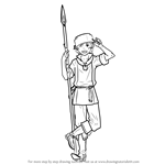 How to Draw Donnel from Fire Emblem