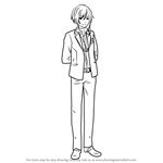 How to Draw Natsume Sakasaki from Ensemble Stars