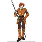 How to Draw Alen from Fire Emblem