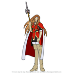 How to Draw Altenna from Fire Emblem