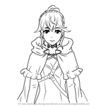 How to Draw Anna from Fire Emblem