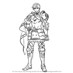 How to Draw Berkut from Fire Emblem