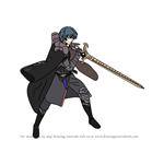 How to Draw Byleth from Fire Emblem