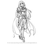 How to Draw Cecilia from Fire Emblem