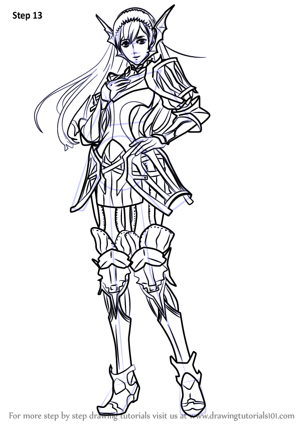 Learn How to Draw Cherche from Fire Emblem (Fire Emblem ...