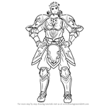 How to Draw Draug from Fire Emblem
