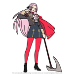 How to Draw Edelgard from Fire Emblem