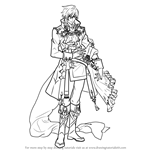 How to Draw Eldigan from Fire Emblem