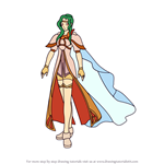 How to Draw Elincia from Fire Emblem