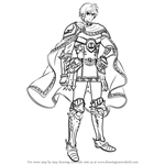 How to Draw Ephraim from Fire Emblem