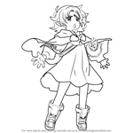 How to Draw Fae from Fire Emblem