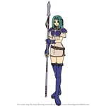 How to Draw Fiora from Fire Emblem