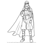 How to Draw Gaius from Fire Emblem