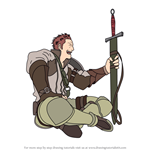 How to Draw Gregor from Fire Emblem