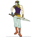 How to Draw Haitaka from Fire Emblem