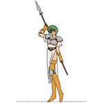 How to Draw Hermina from Fire Emblem