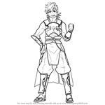 How to Draw Hinata from Fire Emblem