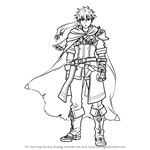 How to Draw Ike from Fire Emblem