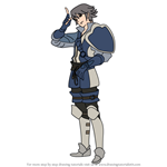 How to Draw Inigo from Fire Emblem