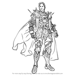 How to Draw Jagen from Fire Emblem