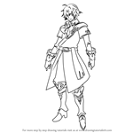 How to Draw Klein from Fire Emblem