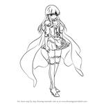How to Draw Lachesis from Fire Emblem