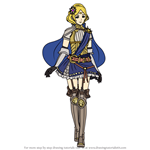 How to Draw Lianna from Fire Emblem