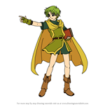 How to Draw Lugh from Fire Emblem