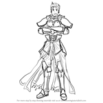 How to Draw Luke from Fire Emblem