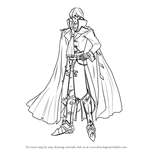 How to Draw Michalis from Fire Emblem