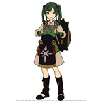 How to Draw Midori from Fire Emblem
