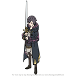 How to Draw Morgan (Awakening) from Fire Emblem