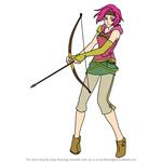 How to Draw Neimi from Fire Emblem